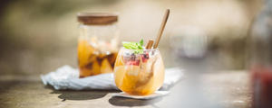 季節の変わり目に効果的!柑橘系フルーツと生姜のスパイスメープルシロップ漬け