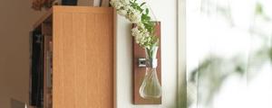 色んな場所に植物を飾れる、壁掛けフラワーベースをDIY!