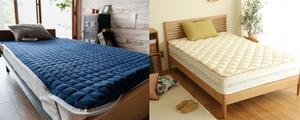 意外と知らない?「ベッドパッド」と「敷きパッド」の違いを知ろう!