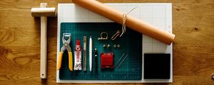 簡単レザークラフトで、お気に入りの革小物を自作しよう!