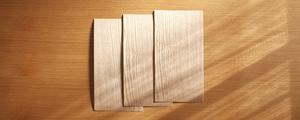 木のぬくもり感じる突板を使って、インテリアアイテムをカスタマイズ!「貼り付け編」