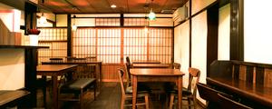つけウドン専門「 花雷 」様へ、町屋に合う和モダンな家具を納品をしました。