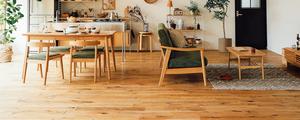 【撮影スタジオレポート】02:床材に蜜ろうワックスを塗りました!