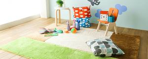 安全性と機能性がポイント!子供部屋用ラグの選び方を紹介します