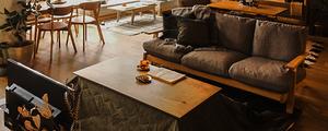 お部屋の冬支度をしよう♪東京店オススメのこたつコーディネートをご紹介します。