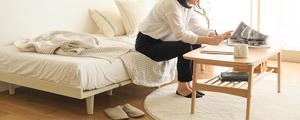 初めての1人暮らしで選ぶベッドは?予算・お部屋に合わせた、お勧めベッドをご紹介します!