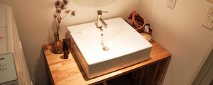DIYで洗面台をリノベーション!(木工&水周り編)
