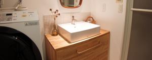 DIYで洗面台をリノベーション!(完成編)