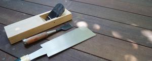 知っていますか? 家具を作る道具たち。刃物の手道具3点についてご紹介します。