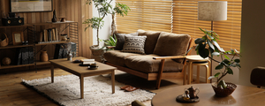「木製フレーム×クッション」ソファー購入の決め手を3つご紹介します。