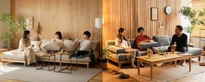 カウチソファーAGRA と rect どっちがいい? 2つのソファーを比較してみました。