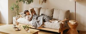 【動画】北欧を感じる温かなデザインが魅力!「NOANA」ソファーをご紹介します。