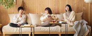 【動画】あぐらをかけるほど広い、最高のくつろぎソファー!「AGRA」ソファーをご紹介します。